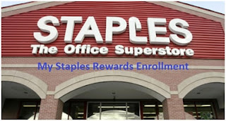 My Staples Rewards Enrollment