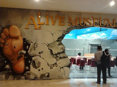 Alive Museum Ancol.