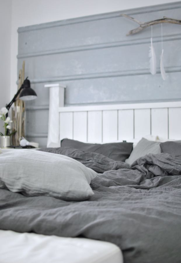hannashantverk.blogspot.se sovrum säng sängkläder lin