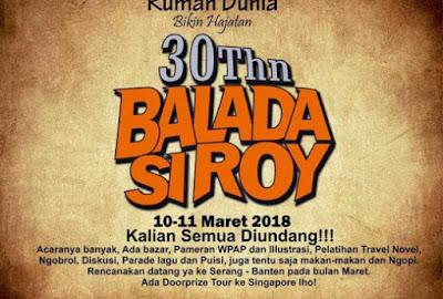 30 Tahun Balada Si Roy