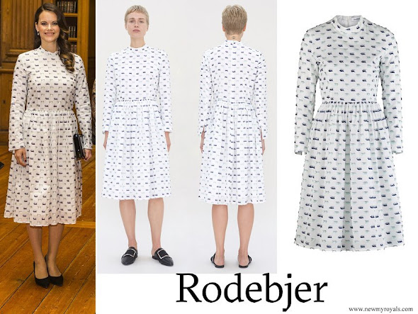 Princess Sofia wore RODEBJER Palasan White Dress