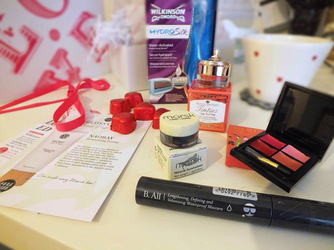 My little box vs glossybox February 2015 review