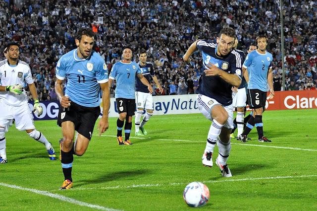 El duelo de Uruguay vs. Argentina será el más esperado de la próxima jornada en la Eliminatoria Conmebol Rusia 2018