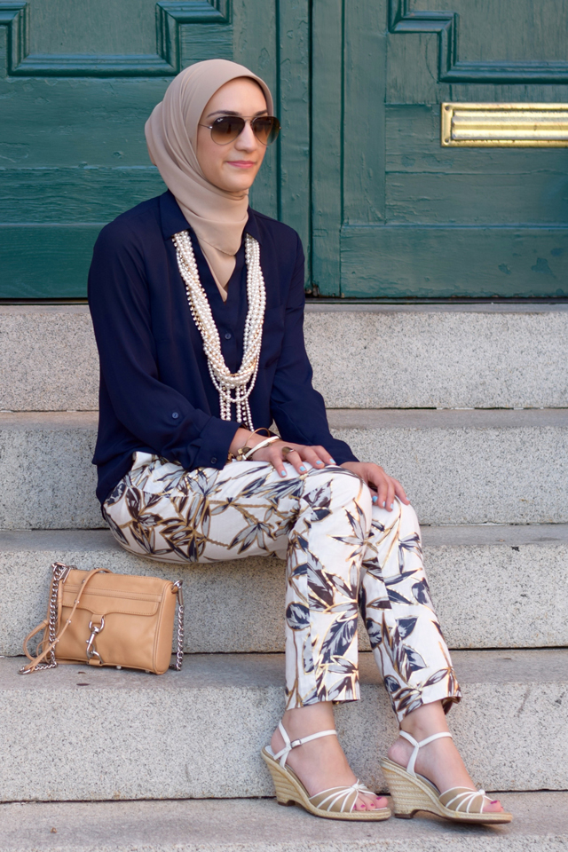 A Day In The Lalz; Fashion; Modesty; Fashion Blog; Hijab; J. Crew; Garden Pant
