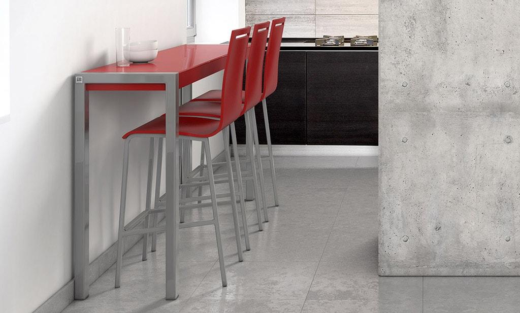 C mo planificar un lugar para comer en una cocina peque a - Mesa cocina con taburetes ...