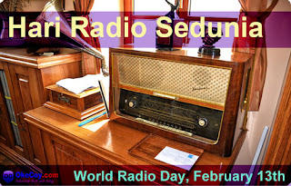 Sejarah Peringatan Hari Radio Sedunia Tanggal 13 Februari
