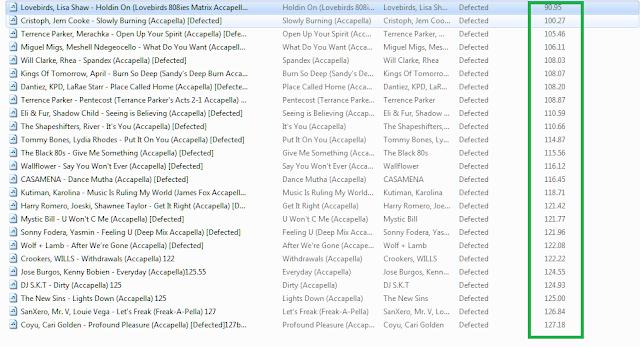 25 Acapella untuk di remix genre House, Deep