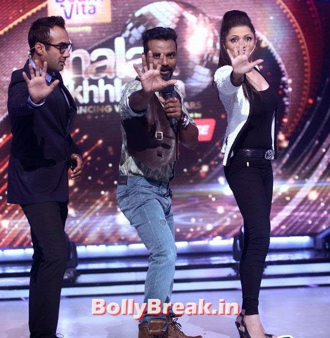 Ranvir Shorey, Remo D'Souza and  Drashti Dhami, Jhalak Dikhhla Jaa Season 7 Grand Launch Pics