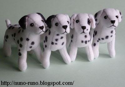 4 dalmatians