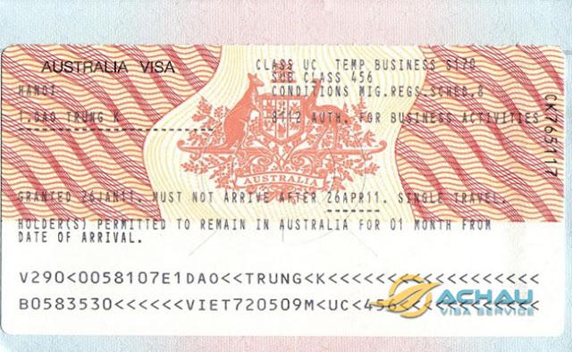 chuẩn bị hồ sơ đầy đủ khi xin visa du lịch Úc