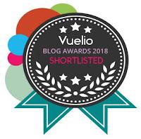 Vuelio Pet Blog Finalist 2018