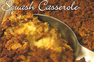 Squash casserole from Homesteading with Heart