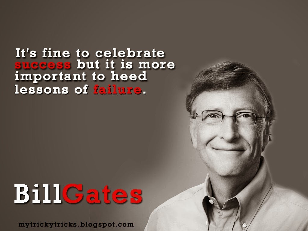 Bill Gates Common Quotes Of