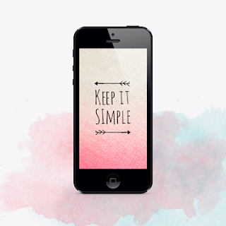 FREE keep it simple flower wallpaper
