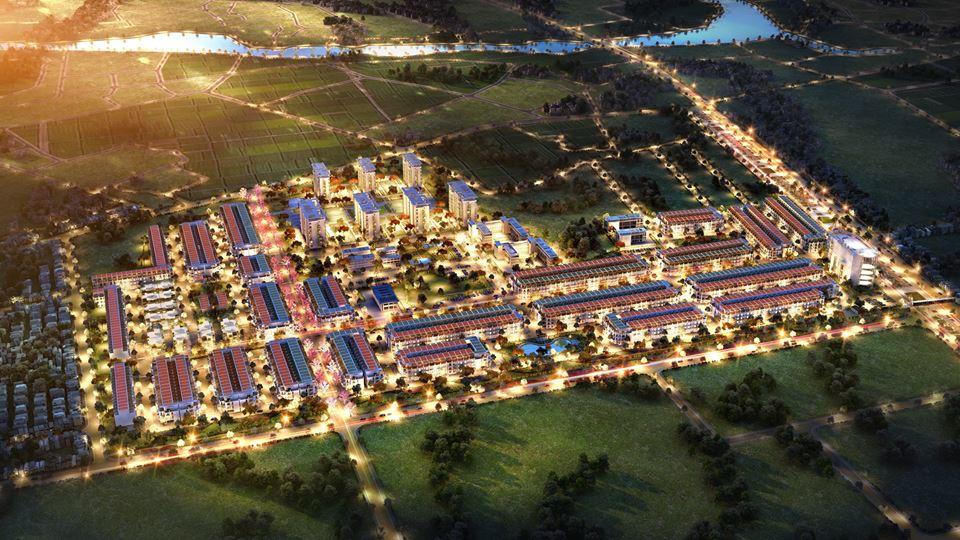 Mặt bằng tổng thể dự án TNR Stars Quế Võ Bắc Ninh