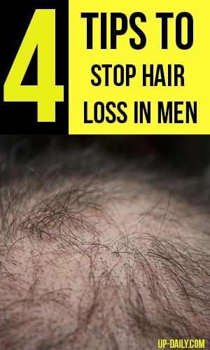 Tips to Stop Hair Loss in Men