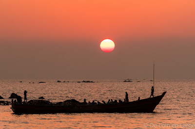 Ngapali - LinThar bay - sunset - Birmanie - Myanmar