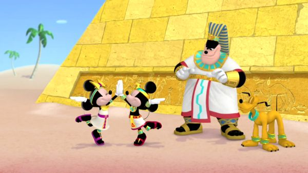 Come on and dance like a Pharaoh!