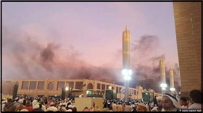 Sebuah Bom Meledak Di Dekat Masjid Nabawi Madinah - Sagoe Tunong