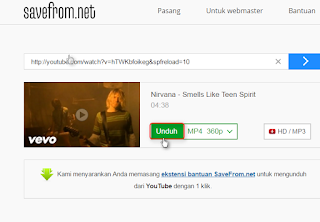 Cara Download Video Youtube Tanpa Downloader