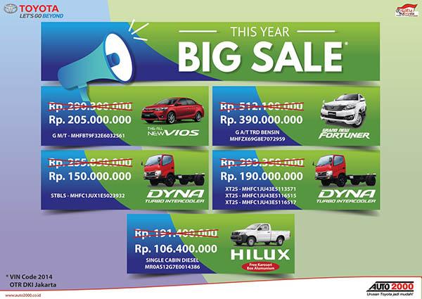 Toyota Unit Tahun 2014
