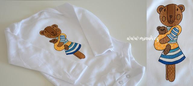 týden nošení - malované tričko