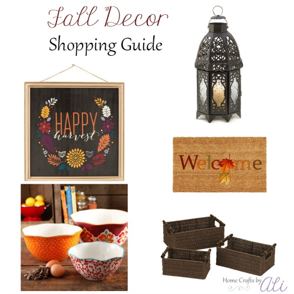 fall decor shopping indoor outdoor decorations