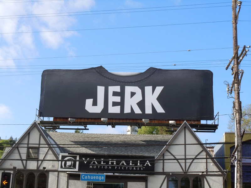 Jerk t-shirt billboard