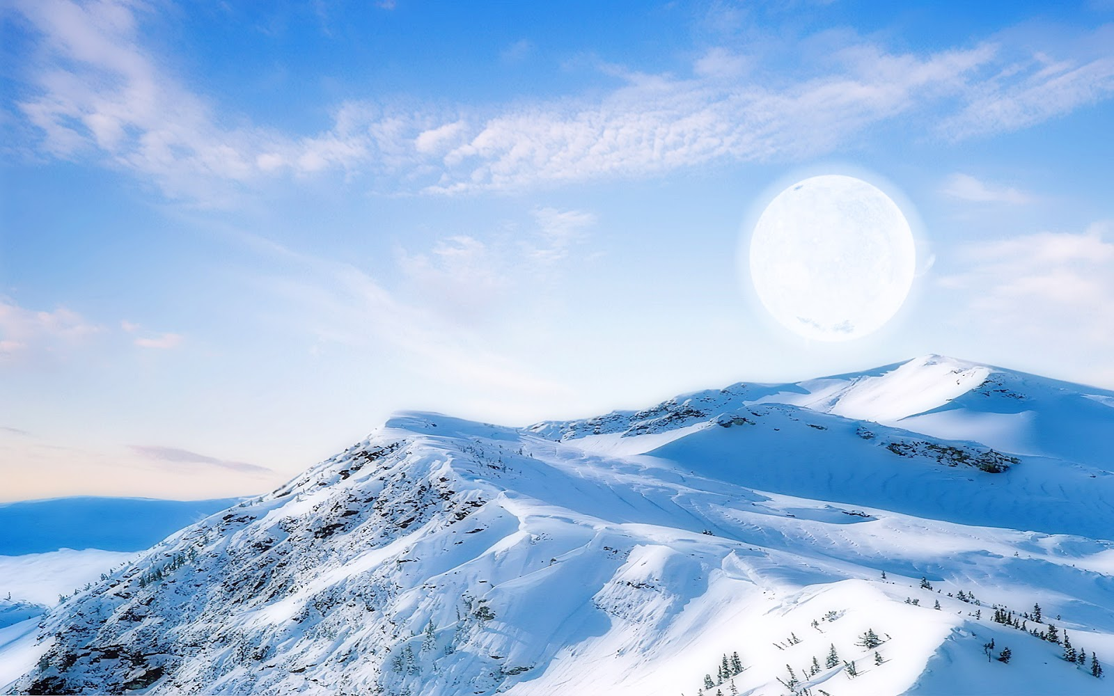 Download Popular Wallpapers 5 Stars: Ice Mountain HD
