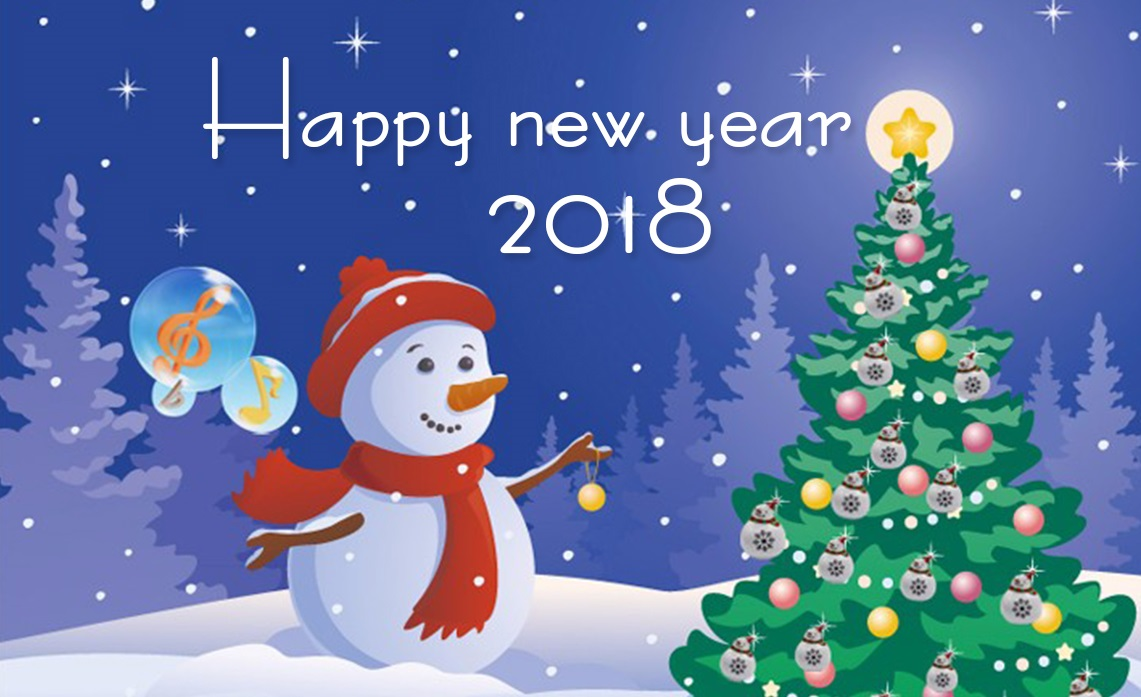 Happy New Year 2018 Greetings Free New Year Greeting Cards Ecards