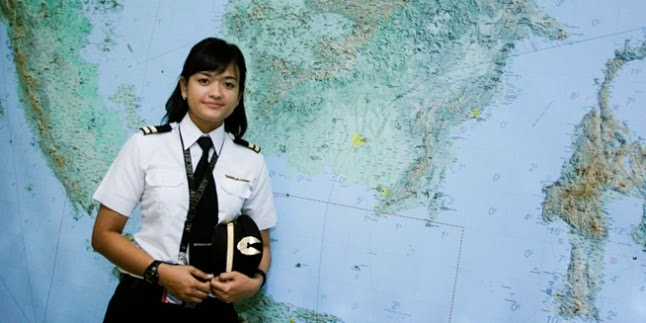 Pilot Paling Cantik Di Indonesia