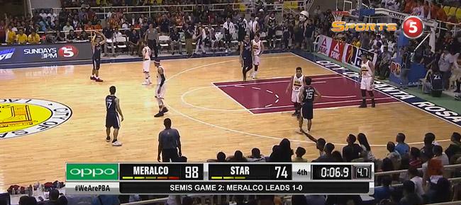 Meralco def. Star, 98-74 (REPLAY VIDEO) Semis Game 2 / October 3