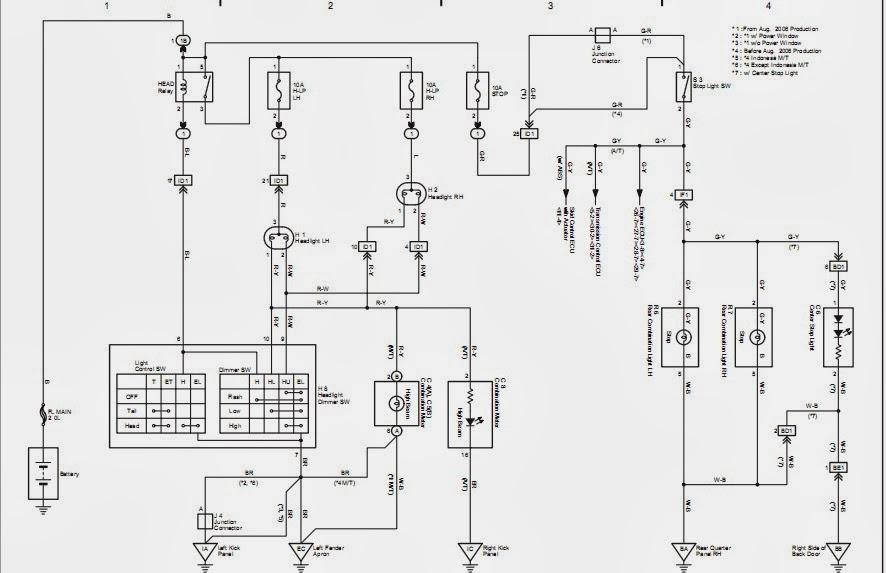 wiring diagram headlamp avanza