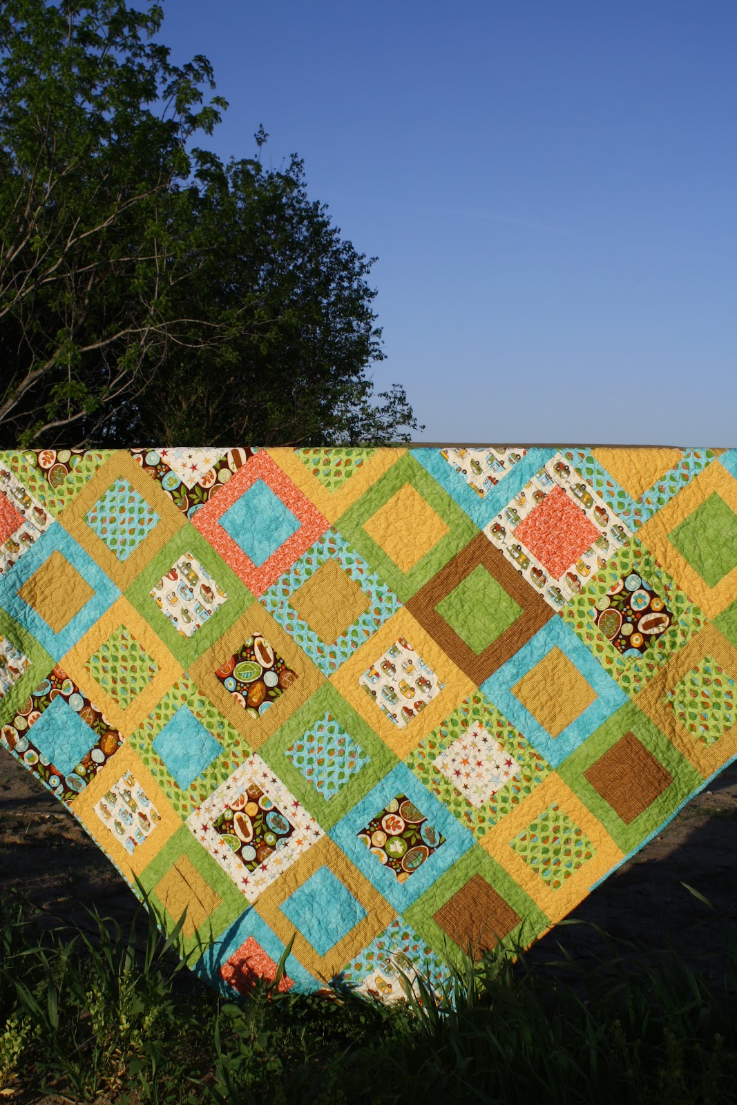 Holly And Olive Camping Quilt
