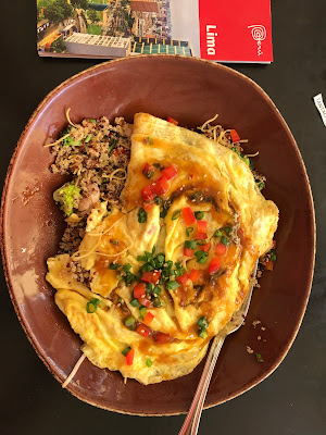 My favorite quinoa dish with omelette