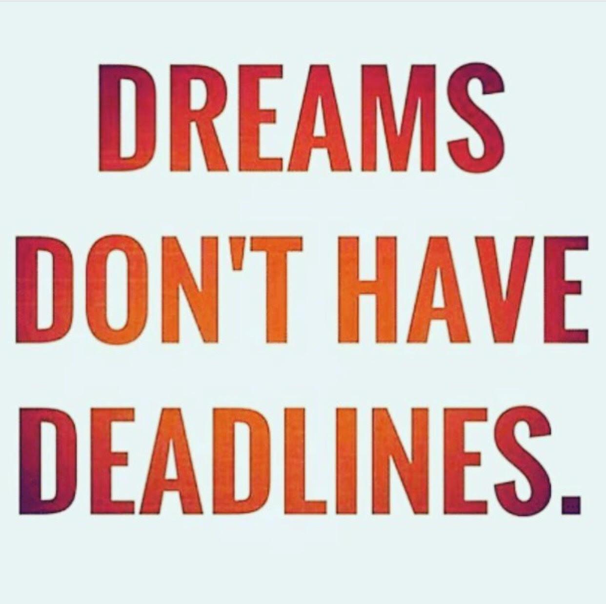 Mimpi Yang Tiada Kesudahan,motivasi diri, harapan, aim high