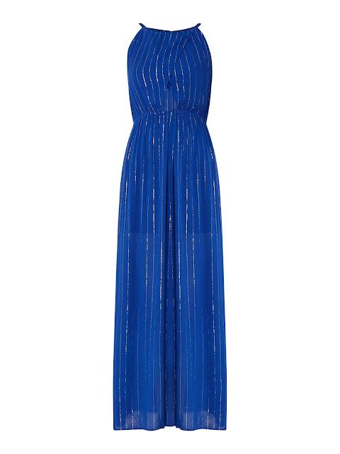 biba keyhole sidesplit maxi dress