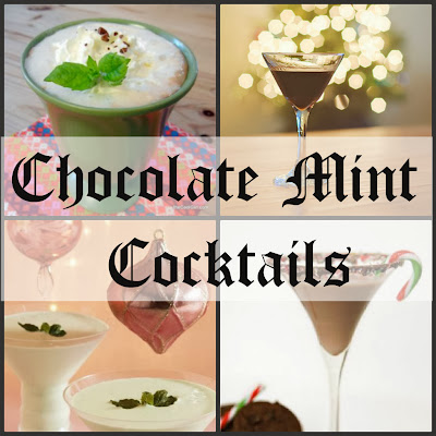 #mintcocktails, #holidaycocktails, #chocolatecocktails