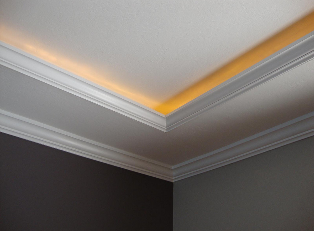 35 Ceiling Corner Crown Molding Ideas - Decor Units