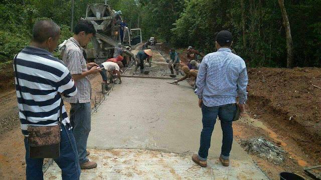 Jalan Pesisir Timur Sudah Diperbaiki, Iskandar Minta Warga Ikut Merawat