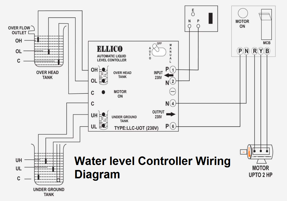 3 phase controller wiring diagram