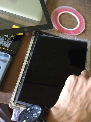 Buka LCD iPad 2