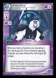 MLP Storm King, Conniver Seaquestria and Beyond CCG Card