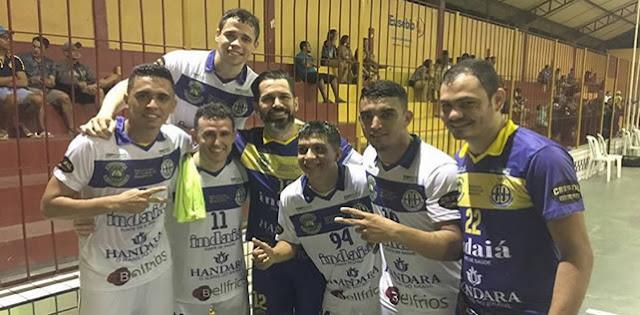 Horizonte faz cinco gols e estreia com goleada na Copa do Estado do Ceará.