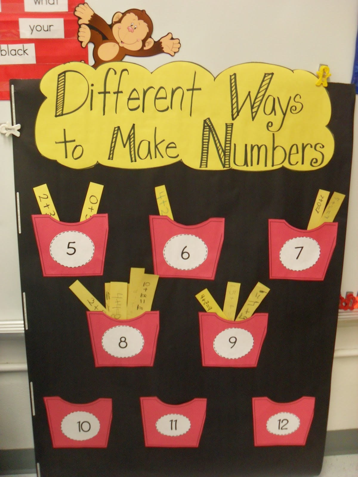 First Grade Fever By Christie French Fry Math Center