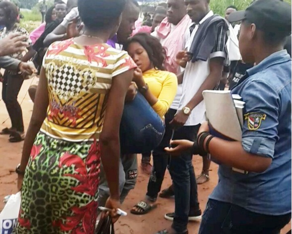 Student faints after being flogged by a lecturer in Imo State