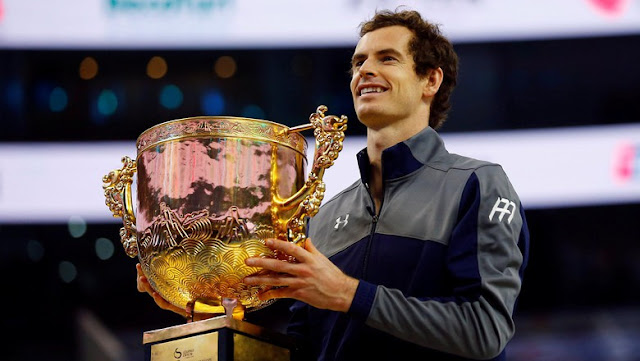 Juara di China, Murray Menangi Titel ke-40