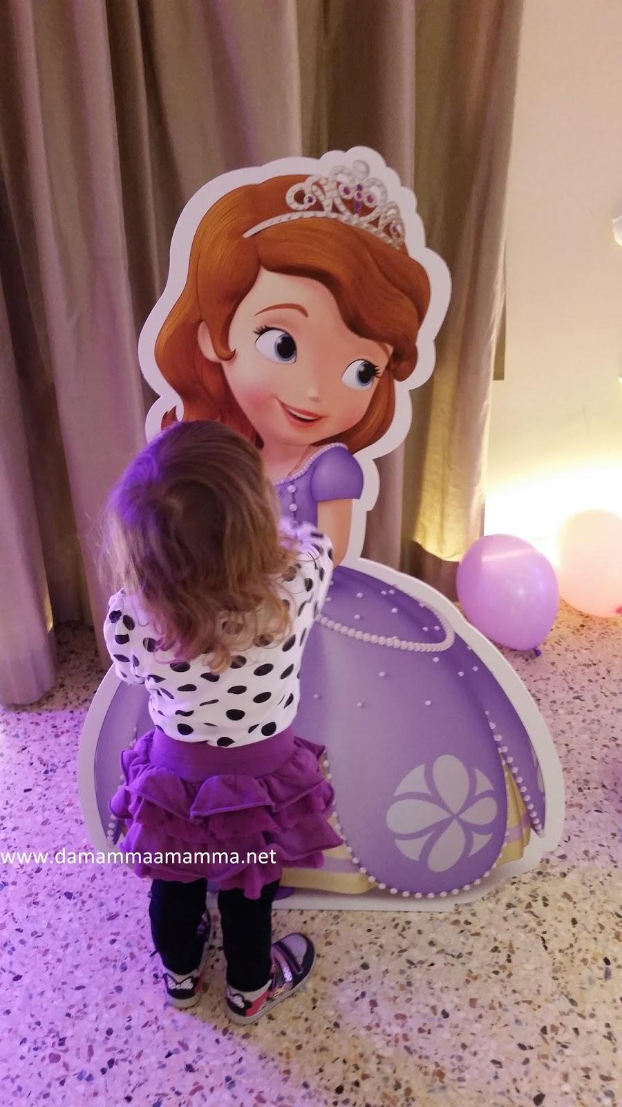 Una giornata da sofia la principessa mamma a