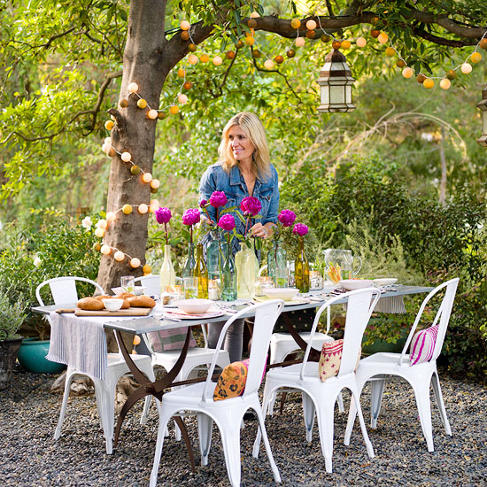 Ideas And Designs For Your Alfresco: 365 Tips To Improve Your Home: # 88 Plan An Outdoor Party
