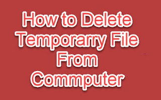 How to delete temporary internet file from computer